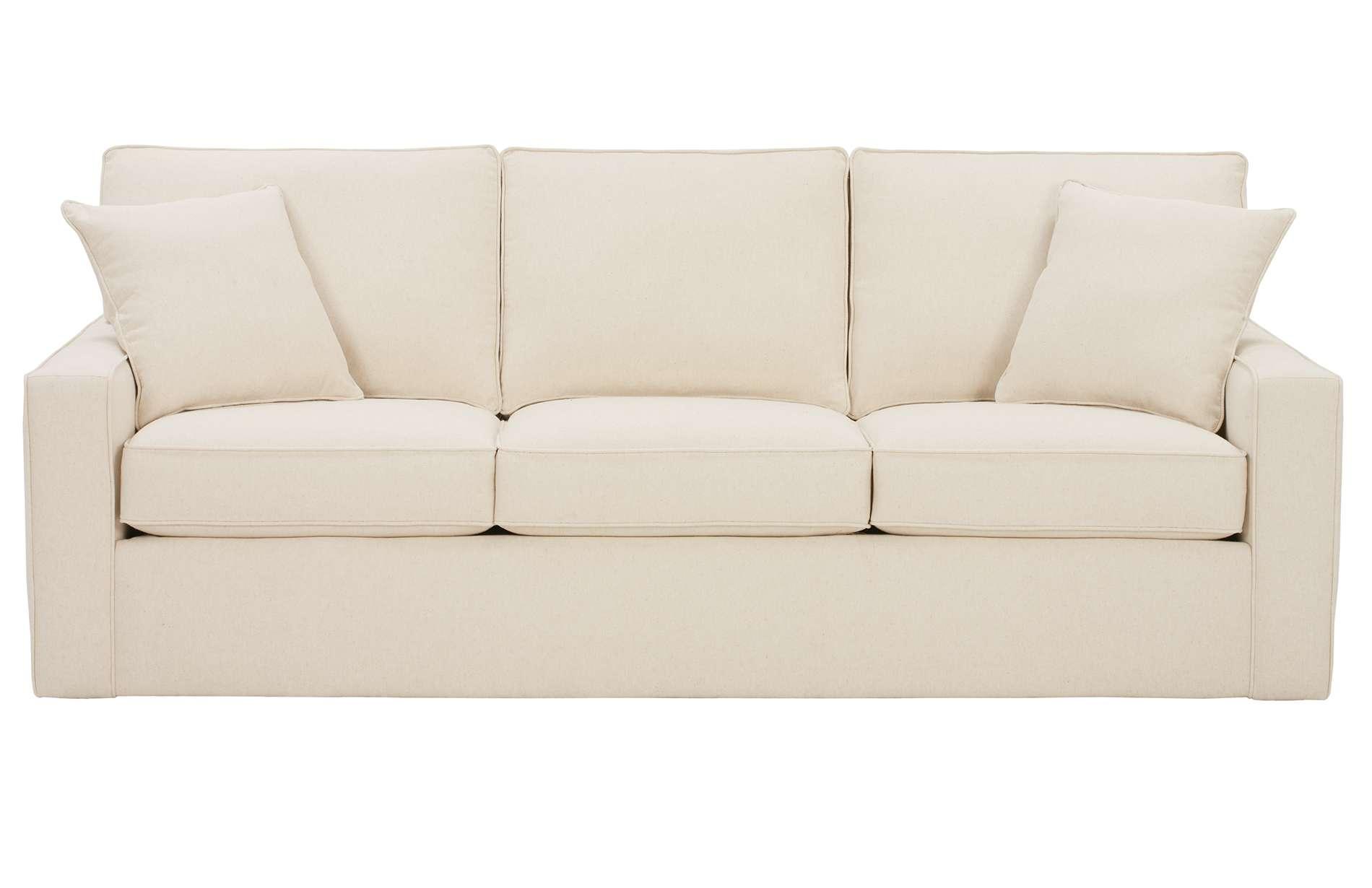 D180 Monaco Fabric 86 Sofa By Rowe Rudd Furniture
