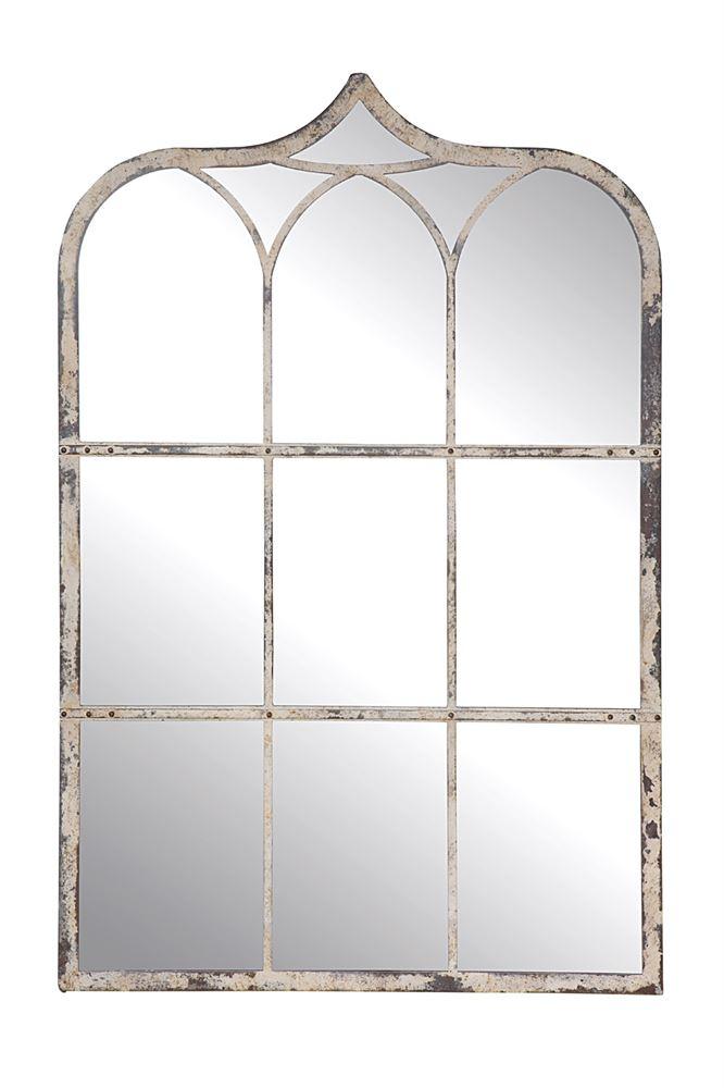 Da9146 Creative Co Op Metal Wall Mirror, Creative Co Op Furniture